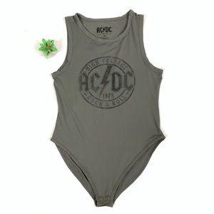ACDC High Voltage Sleeveless bodysuit size XL ☕️